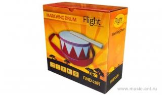 Маршевый барабан детский FLIGHT PERCUSSION FMD-20R