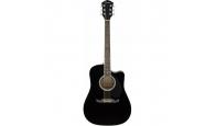 FENDER FA-125CE Black - Электроакустическая гитара