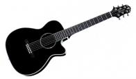 Акустическая гитара CRAFTER TRV-23 BK уменьшенная 3/4