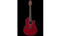OVATION APPLAUSE AB24II-RR Mid Cutaway Ruby Red – Электроакустическая гитара