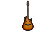 OVATION 2758AX-NEB Standard Elite 12-String Deep Contour Cutaway New England Burst – Электроакустическая гитара