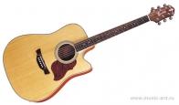 CRAFTER DE-6 N + Чехол - Электроакустическая гитара