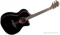 Электроакустическая гитара LAG T100ACE BLK