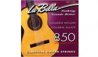 Струны для классической гитары LA BELLA 850 Medium Hard