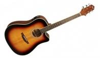 Электроакустическая гитара FLIGHT AD-200 CEQ 3TS
