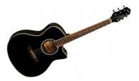Электроакустическая гитара FLIGHT AG-210 CEQ BK