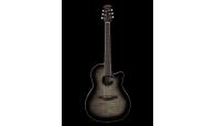 OVATION CS24P-TBBY Celebrity Standard Plus Mid Cutaway Trans Black Flame Maple - Электроакустическая гитара