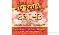 Струны для классической гитары LA BELLA 820B Flamenco Medium