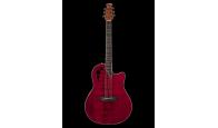 OVATION APPLAUSE AE44II-RR Mid Cutaway Ruby Red – Электроакустическая гитара