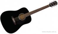 FENDER CD-60S Black акустическая гитара