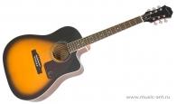 EPIPHONE AJ-220SCE Vintage Sunburst – Акустическая гитара
