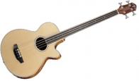 Акустическая бас гитара безладовая CRAFTER BA 400 EQ/FL/N